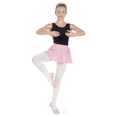 Pull On Georgette Skirt (Pink) - Dancer's Wardrobe