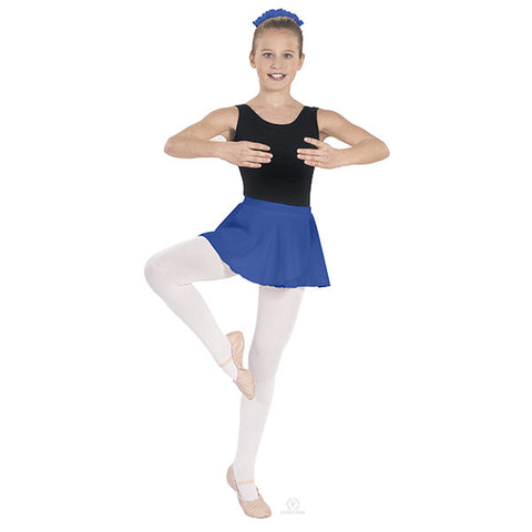 Child Pull On Georgette Skirt (Royal Blue) - Dancer's Wardrobe