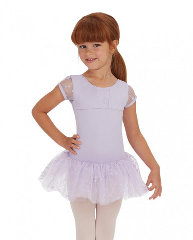 Cap Sleeve Tutu Dress by Capezio (Lilac) 10128C - Dancer's Wardrobe