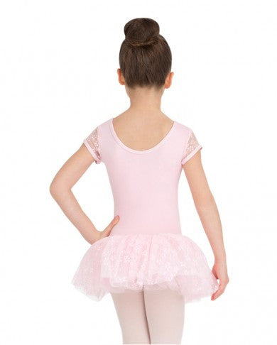 Cap Sleeve Tutu Dress by Capezio (Pink) 10128C - Dancer's Wardrobe