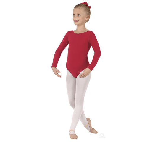 Child Long Sleeve Leotard 10408 - Dancer's Wardrobe