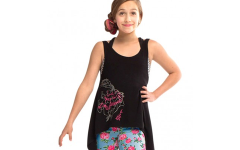 Betsy Johnson Graphic Tank - Dancer's Wardrobe