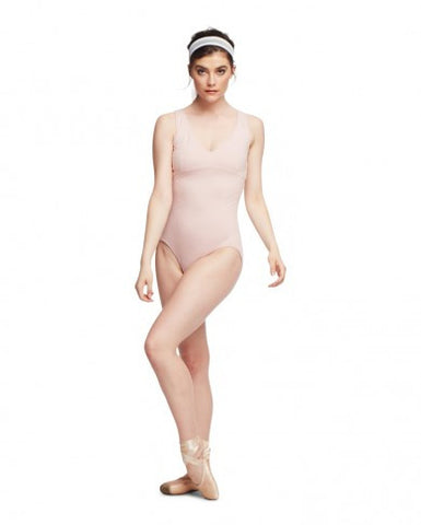 V NECK LEOTARD - Dancer's Wardrobe