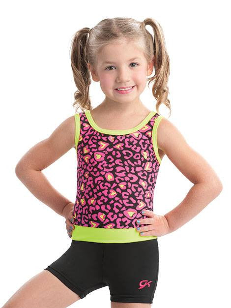 Child Berry Jaguar Biketard E2672 - Dancer's Wardrobe