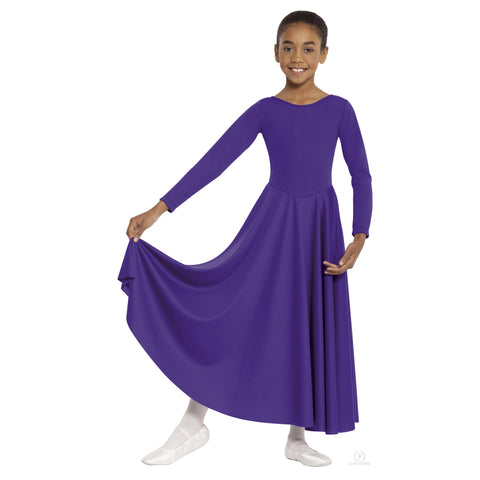Child Polyester Praise Dress 13524C - Dancer's Wardrobe