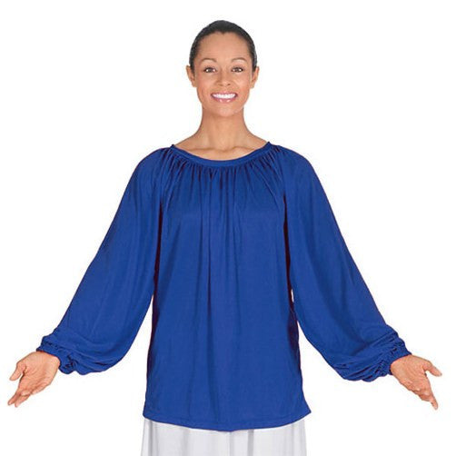 Child Pullover Long Sleeve Blouse - Dancer's Wardrobe