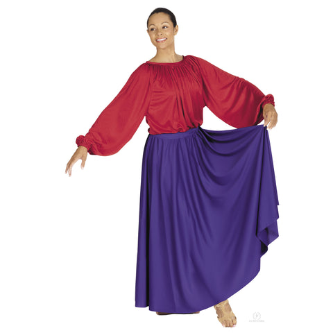 "37"" Adult Lyrical Circle Skirt 13778 - Dancer's Wardrobe"