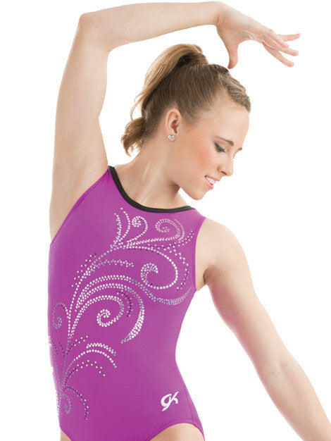 Whispering Swirl Leotard - Dancer's Wardrobe