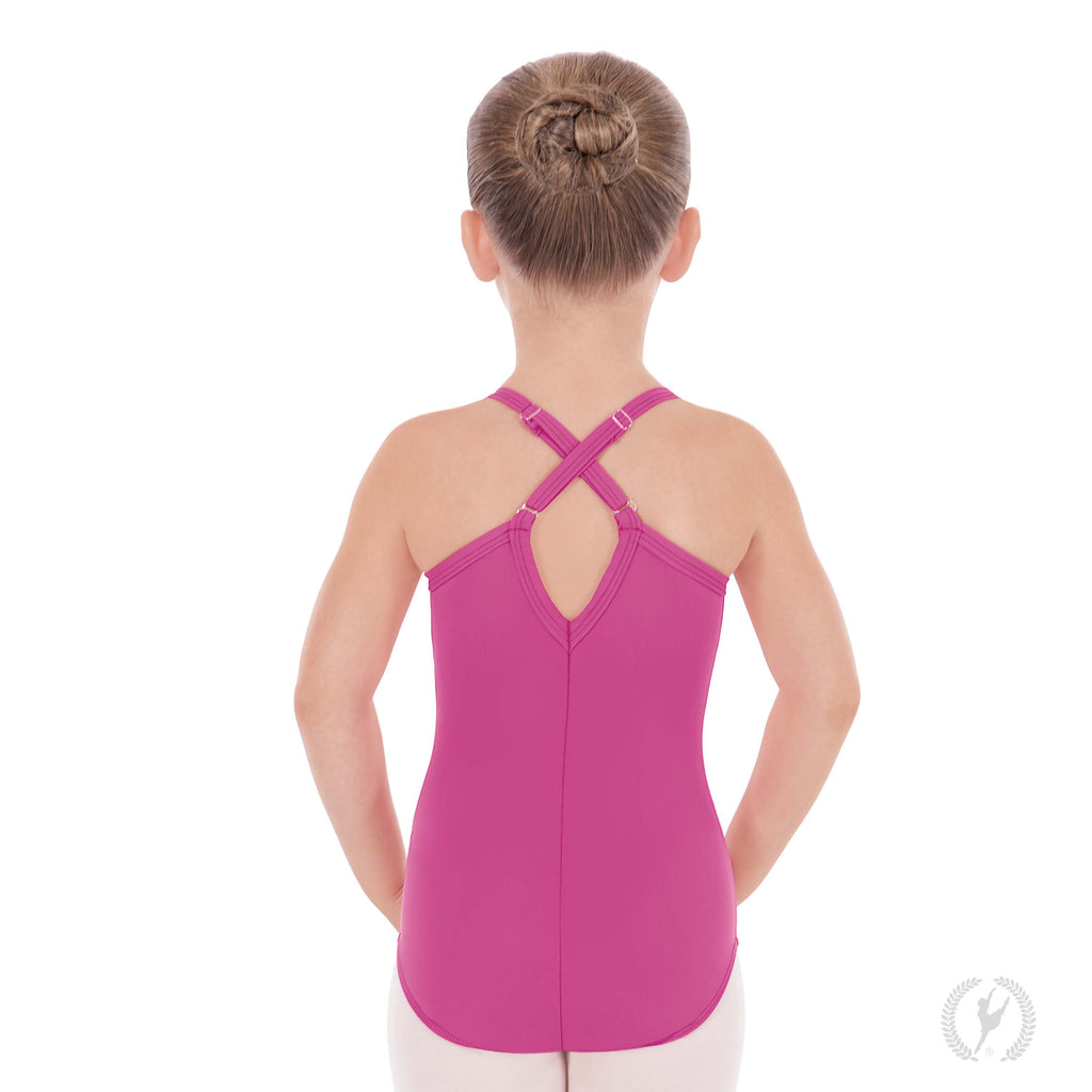 (MFA) Child Adj Camisole Leotard 44819C (Black)