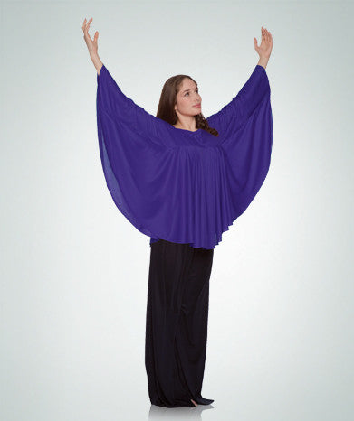 Celebration Of Spirit Capes Drapey Pullover 568 - Dancer's Wardrobe