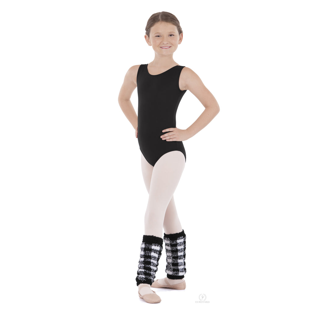"Child 12"" Plush Plaid Legwarmer - Dancer's Wardrobe"