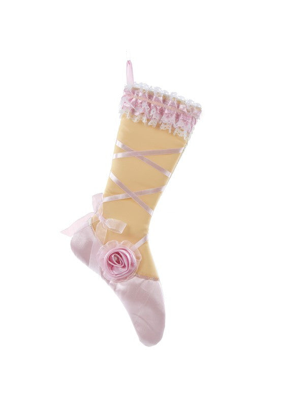 "19"" Christmas Ballet Shoe Stocking C4619 - Dancer's Wardrobe"