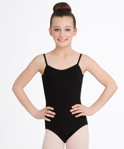 Child V-Neck Camisole Leotard CC102C (Hunter Green)