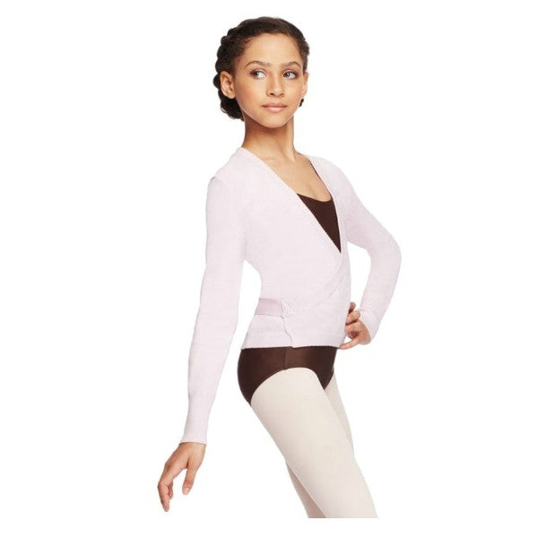 Child Knit Wrap Sweater (Fashion) - Dancer's Wardrobe