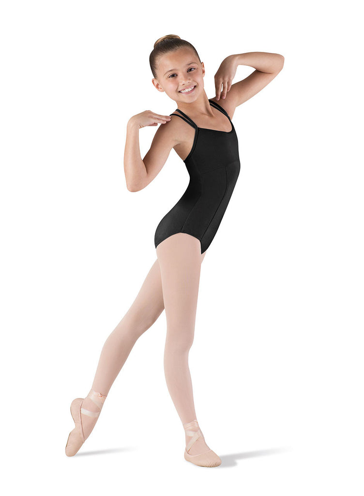 Double Strap Seamed Leotard CL3667 - Dancer's Wardrobe