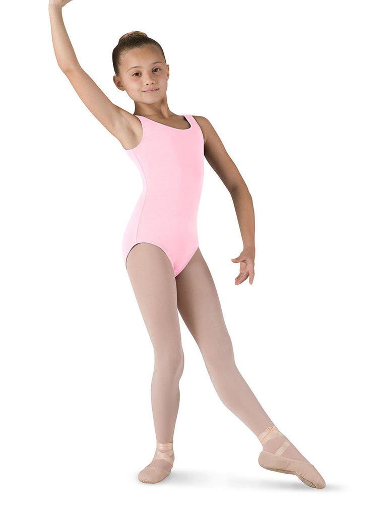 Child Basic Tank Leotard (Candy Pink) CL5405 - Dancer's Wardrobe