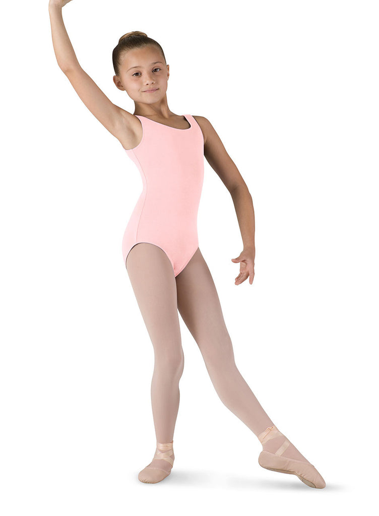 Child Basic Tank Leotard (Light Pink) cl5405 - Dancer's Wardrobe