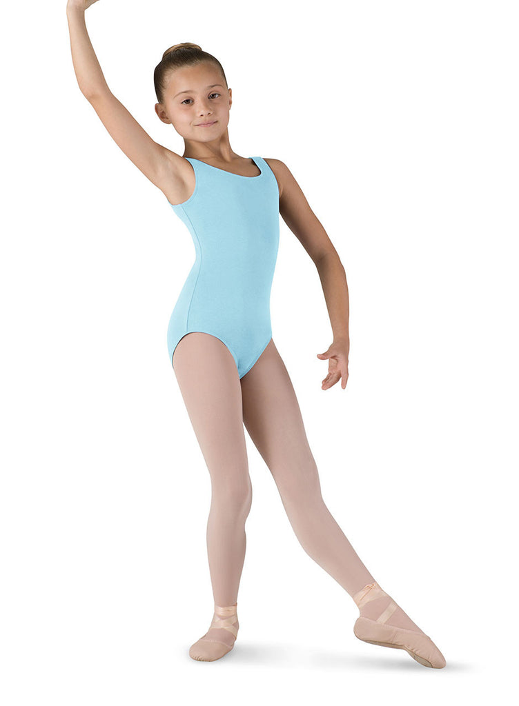 Child Basic Tank Leotard (Pastel Blue) cl5405 - Dancer's Wardrobe