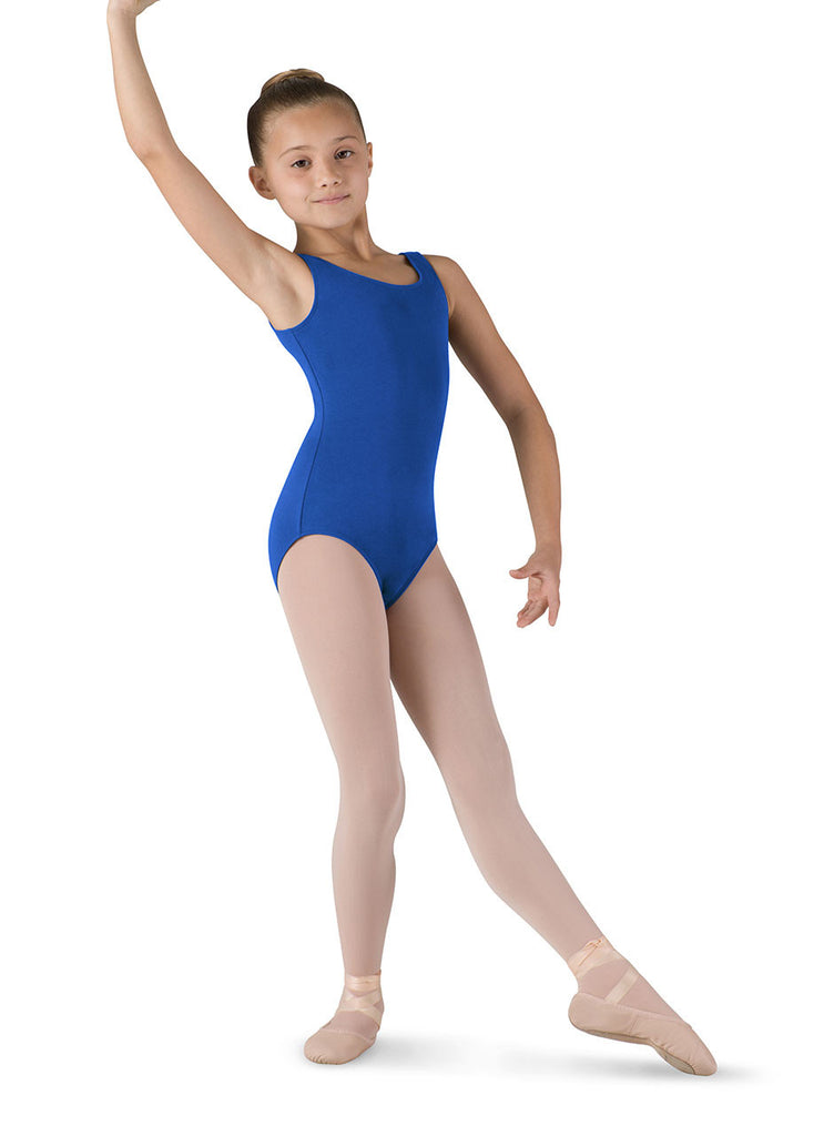 Child Basic Tank Leotard (Royal Blue) cl5405 - Dancer's Wardrobe