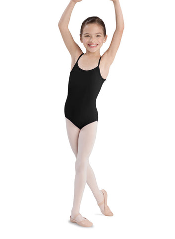 Child Basic Cami Leotard (Black) CL5407 - Dancer's Wardrobe