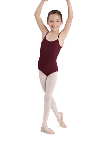 Child Basic Cami Leotard (Burgundy) CL5407 - Dancer's Wardrobe