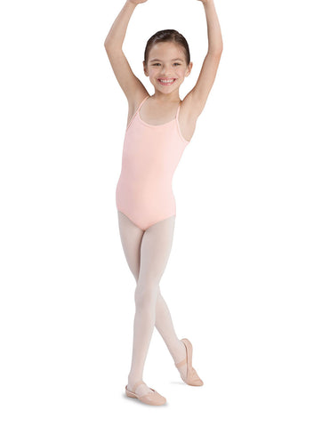Child Basic Cami Leotard (Light Pink) CL5407 - Dancer's Wardrobe