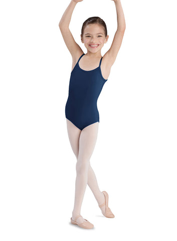 Child Basic Cami Leotard (Navy) CL5407 - Dancer's Wardrobe