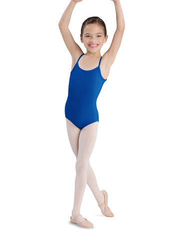 Child Basic Cami Leotard (Royal) CL5407 - Dancer's Wardrobe