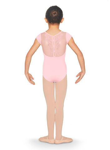 "Child ""Tully"" Cap Sleeve Leotard CL5592"