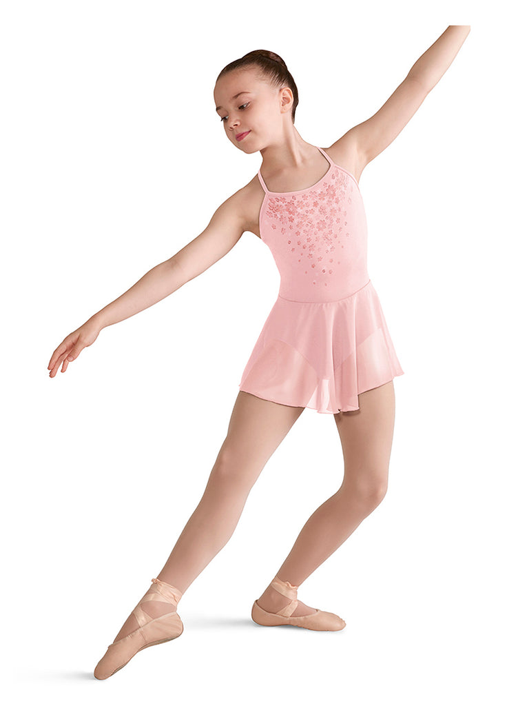 Child Papillon Skirted Leotard CL5717 Bloch (Papillion -Butterfly Print)