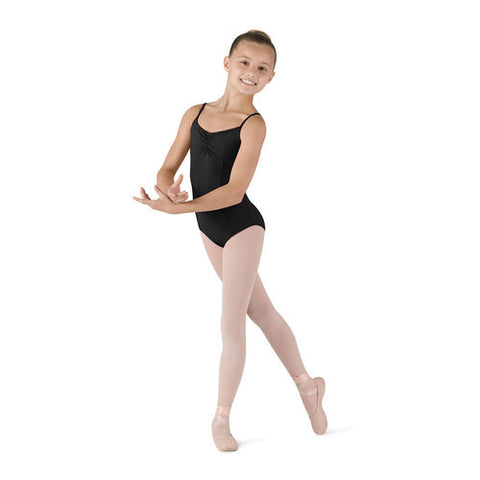 Sugar Girl Cami Leo (Black) - Dancer's Wardrobe