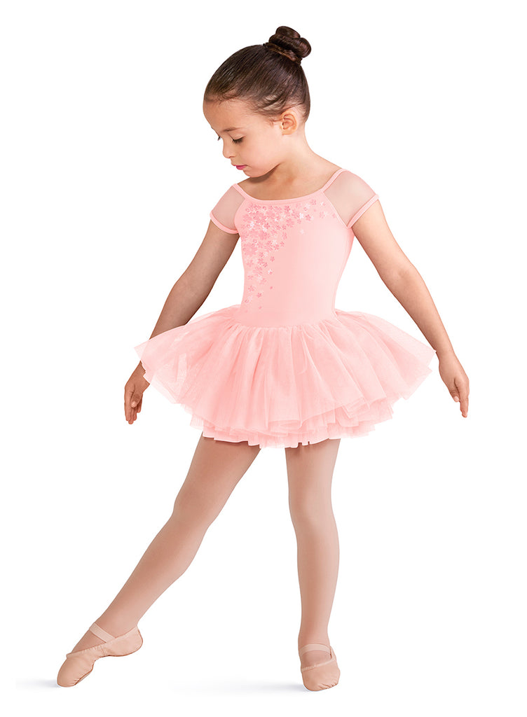 Child Cap Sleeve Tutu Dress CL8172 Bloch (Candy Pink)
