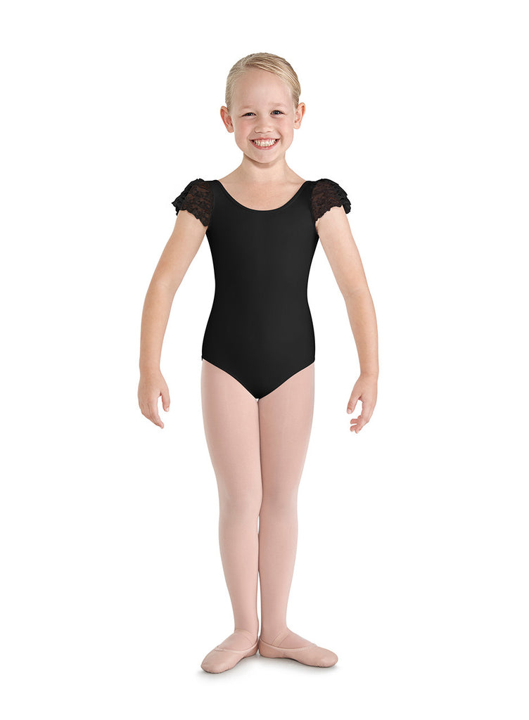 Child Puff Sleeve Leotard - Dancer's Wardrobe
