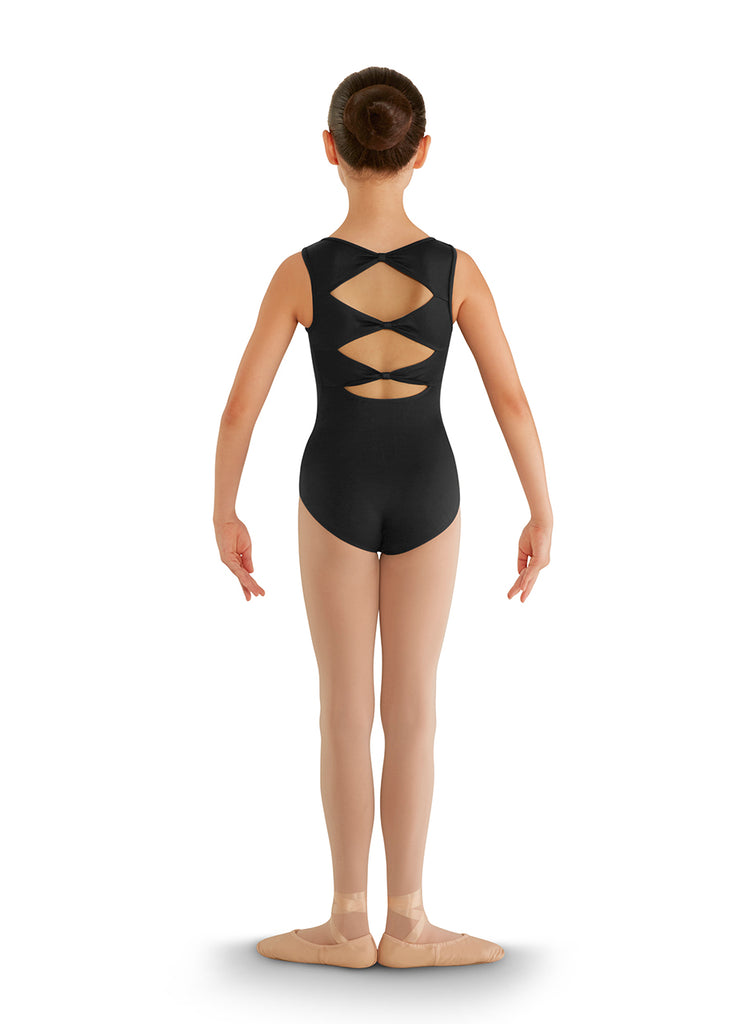 Child 3 Bow Back Tank Leo CL8835 Bloch (Black)