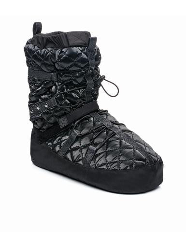 Capezio Quilted Technique Warmup Bootie - Dancer's Wardrobe