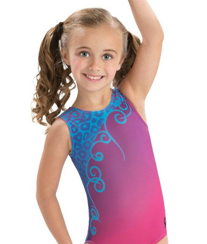 Animal Swirl Leotard - Dancer's Wardrobe