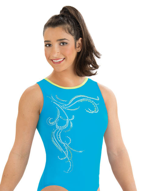 Swirling Breeze Aly Raisman Leotard - Dancer's Wardrobe