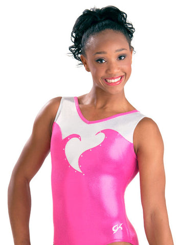 Blooming Heart Gymnastics Leotard - Dancer's Wardrobe