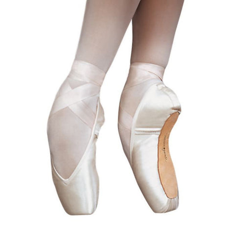 Entrada Classic V-cut Pointe Shoe Vamp #2 - Dancer's Wardrobe