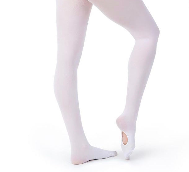 Capezio Ultra Soft Transition Tights 1916 (White) - Sizes L/XL, XXL