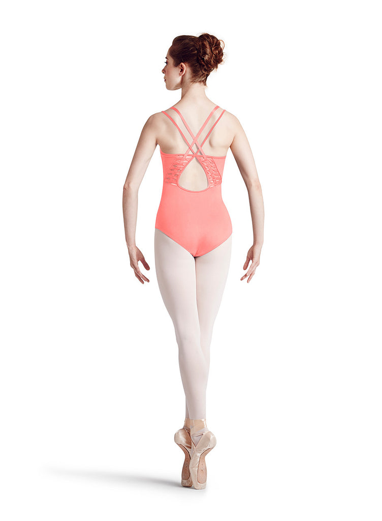 Battle of the Ladders Leotard (Dried Sherbet Fruit) - Dancer's Wardrobe