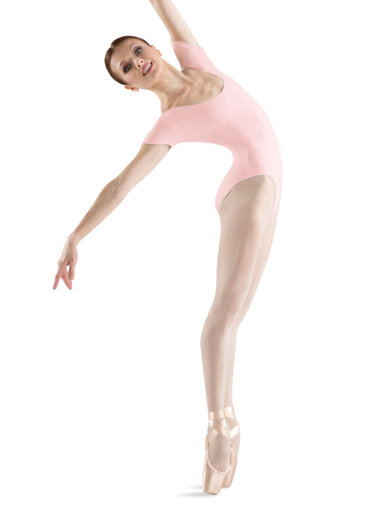 Adult Basic Short Sleeve Leotard (Light Pink) L5402 - Dancer's Wardrobe