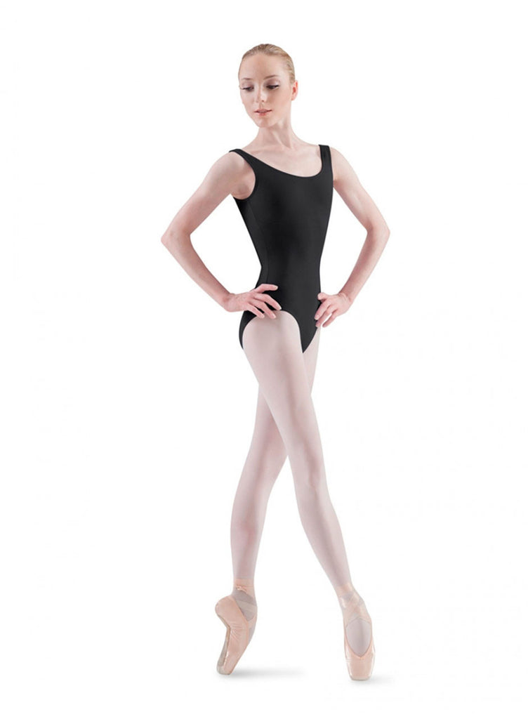 Adult Basic Tank Leotard (Black) - Dancer's Wardrobe
