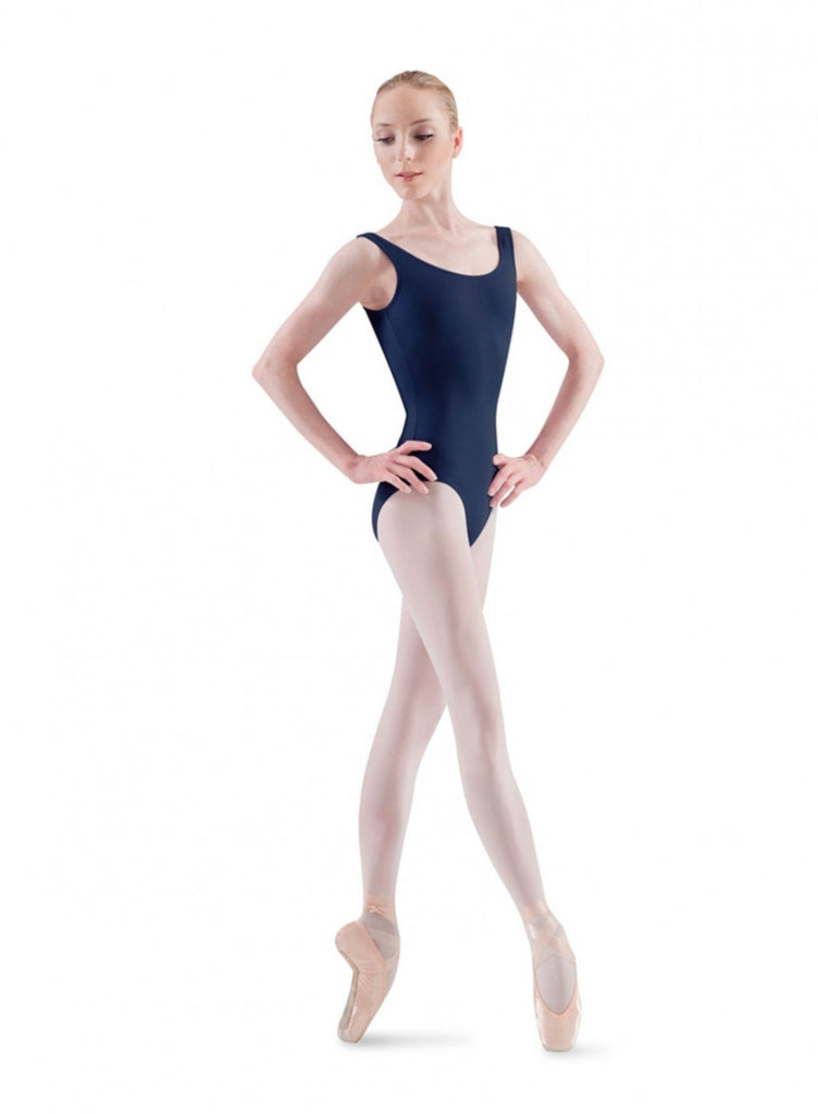 Adult Basic Tank Leotard (Navy) - Dancer's Wardrobe