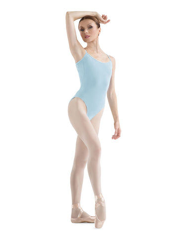 Adult Camisole Leotard (Pastel Blue) - Dancer's Wardrobe