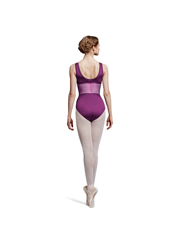 Diamond Mesh Tank Leotard - Dancer's Wardrobe