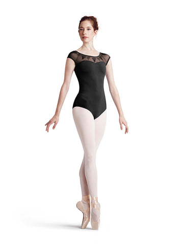 Damsel Leotard (Black) - Dancer's Wardrobe