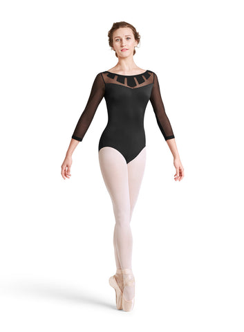 Sunray 3/4 Sleeve Leotard - Dancer's Wardrobe