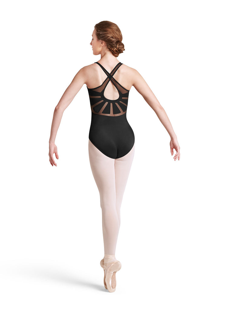 X Back Tank Leotard - Dancer's Wardrobe