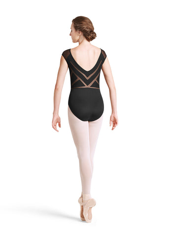 Sunray Back Cap Sleeve Leotard - Dancer's Wardrobe